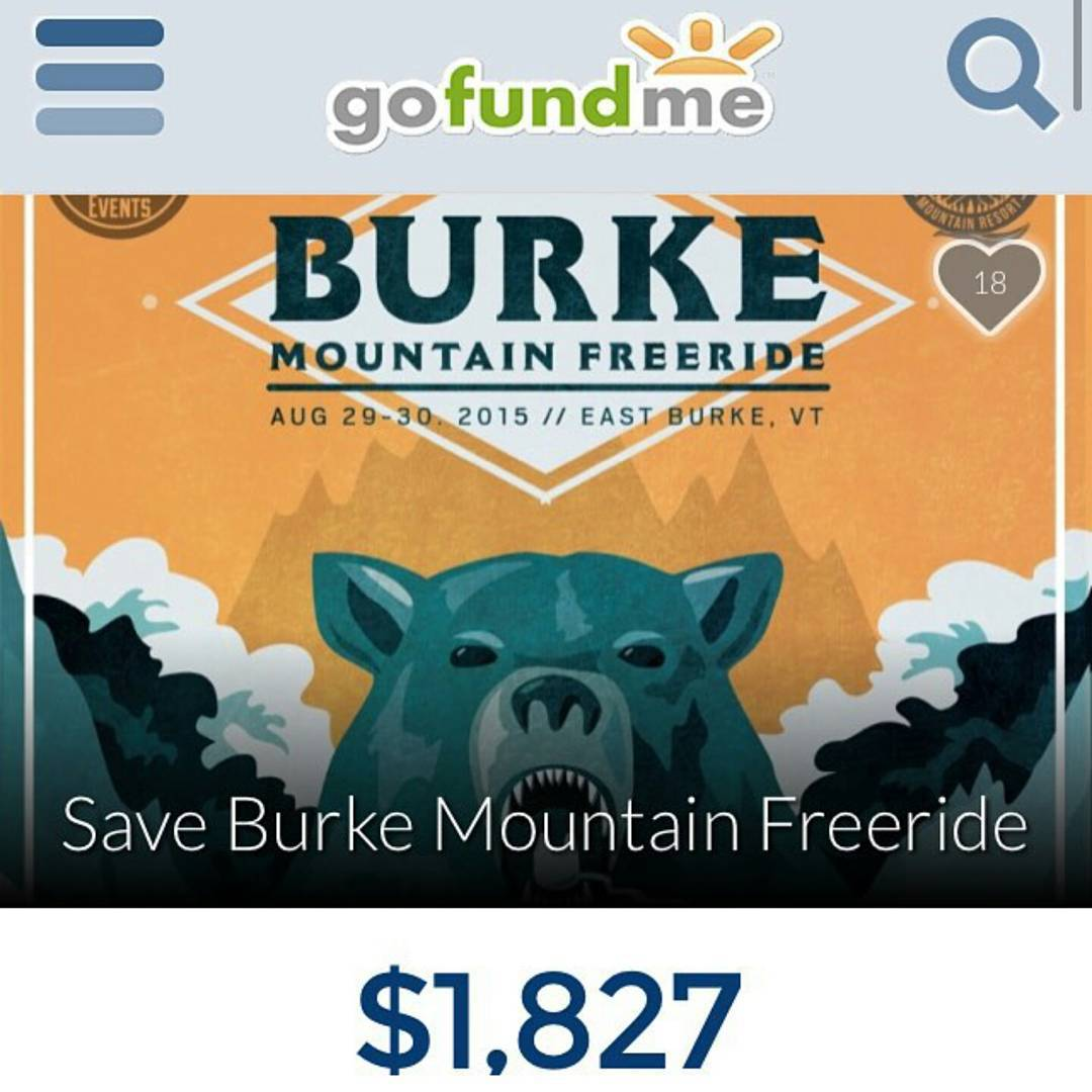 Please help to save the Burke freeride!  Any donation will be appreciated.  Link on @emgeemann bio!  #restlessboards