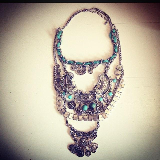 El #collar #boho es todo