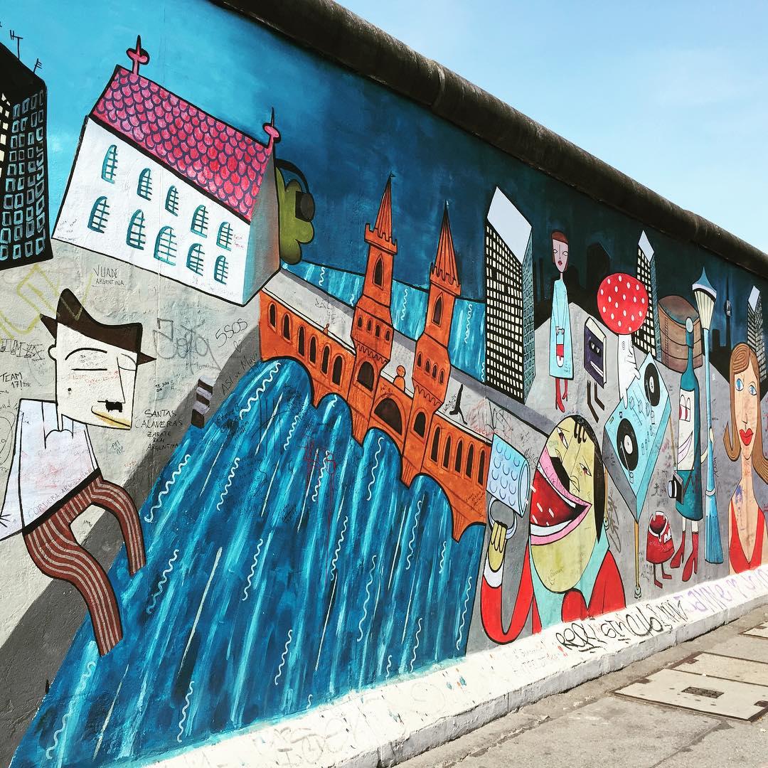 Muro de #Berlín