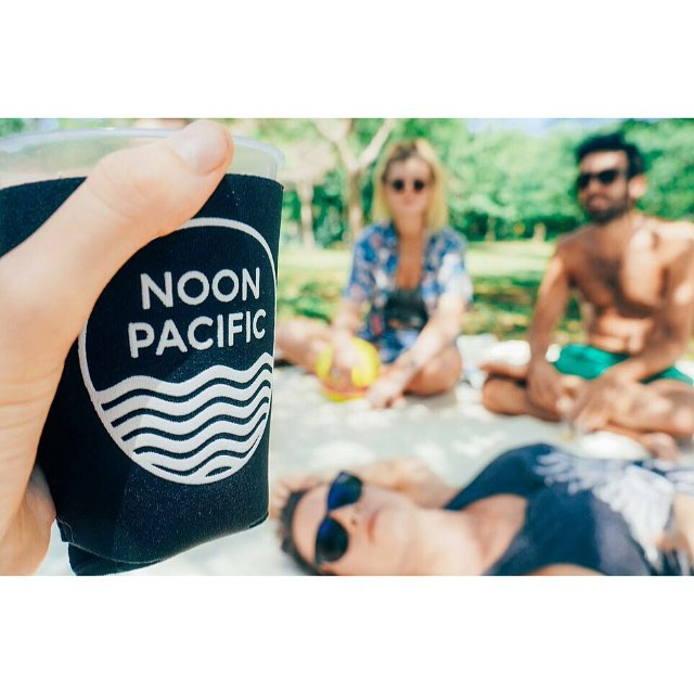 Noon Pacific koozies roaming the Nicaraguan jungle.