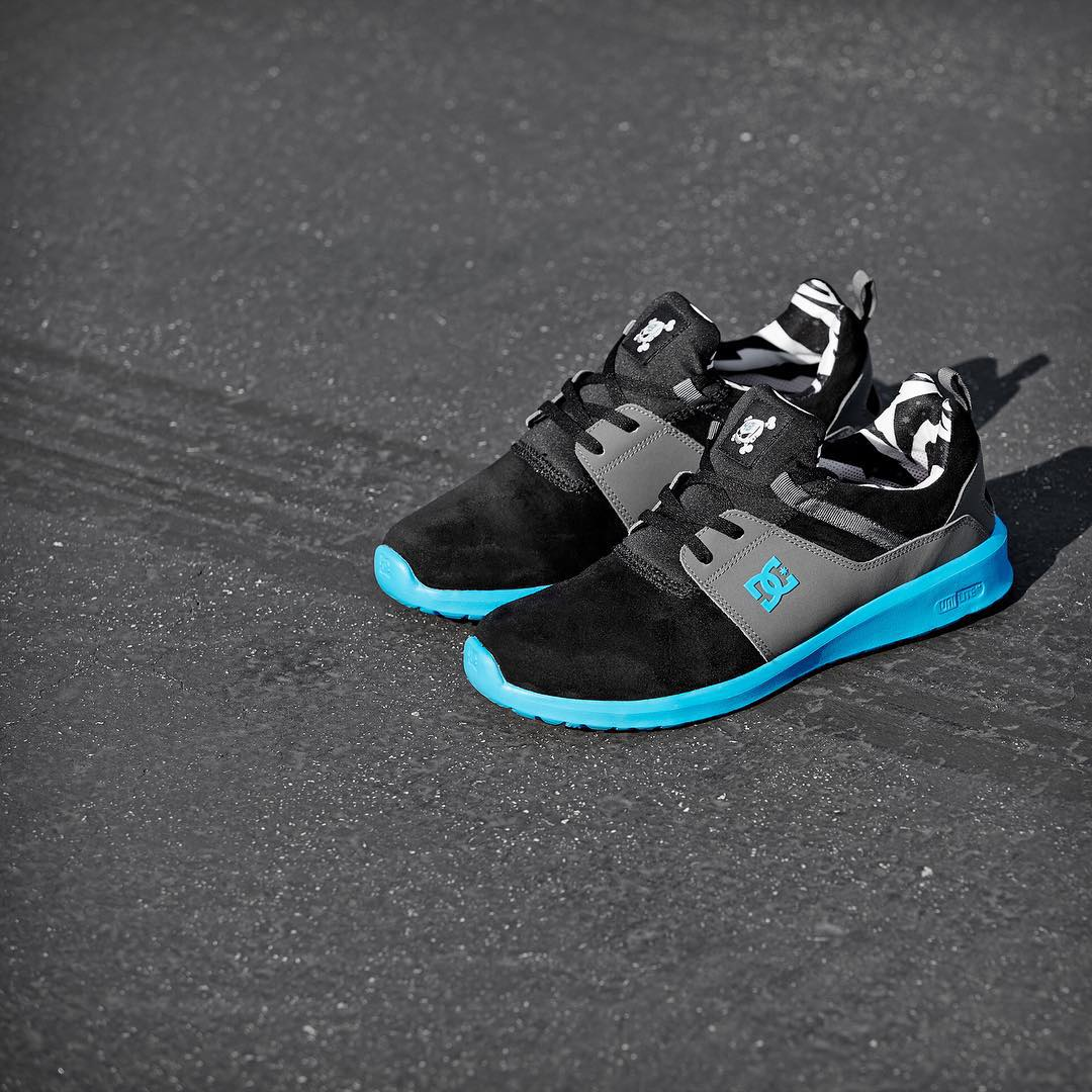 @kblock43's signature cyan/ black color of the Heathrow is available now. Engineered for performance, designed for life. DCShoes.com/Auto #dcshoes #dcheathrow #kenblock