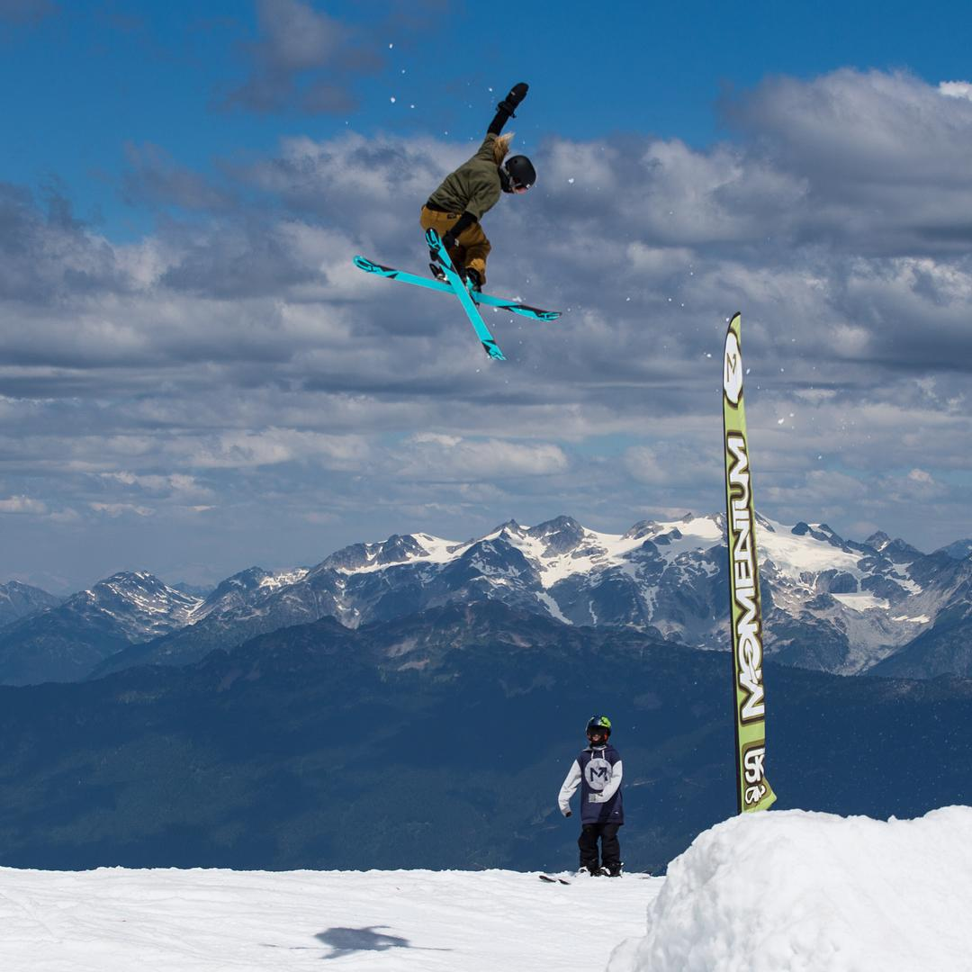 It won't be long now... Team rider @anna_segal soars earlier this summer @momentumcamps