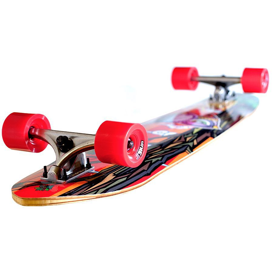 "The #RayneAnthem is the tune to cruise to  36"" long 9.25"" wide 24"" wheelbase  Featuring our all new K.I.S.S. Construction in a directional shape this is your ultimate cruiser/free ride quiver killer.  Hit the link in our bio for more information"