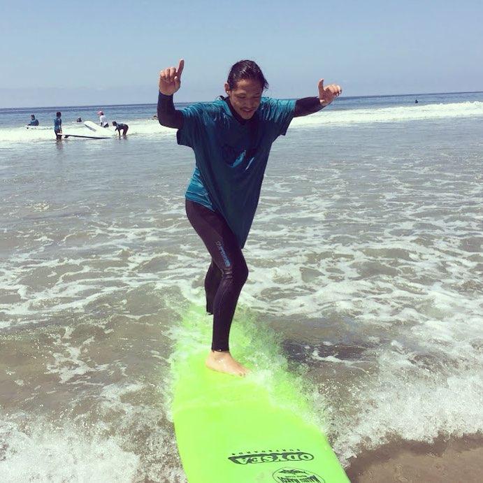 A stellar day of surfing!