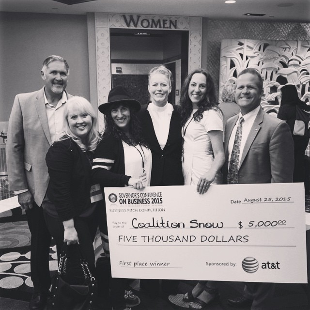 Honored and fired up to receive this win in the @GovSandoval @SmallBizNV pitch competition! And big thanks to @gogirlmade and all the other #sisterhoodofshred supporters! #ladyboss #femalefounder #makingmoves #firstplace