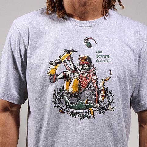 Adquira agora mesmo a sua camiseta @QIXRoots e fique estiloso para o rolê. www.qixskateshop.com.br  #qix #skate #qixroots #roots #qixskateshop