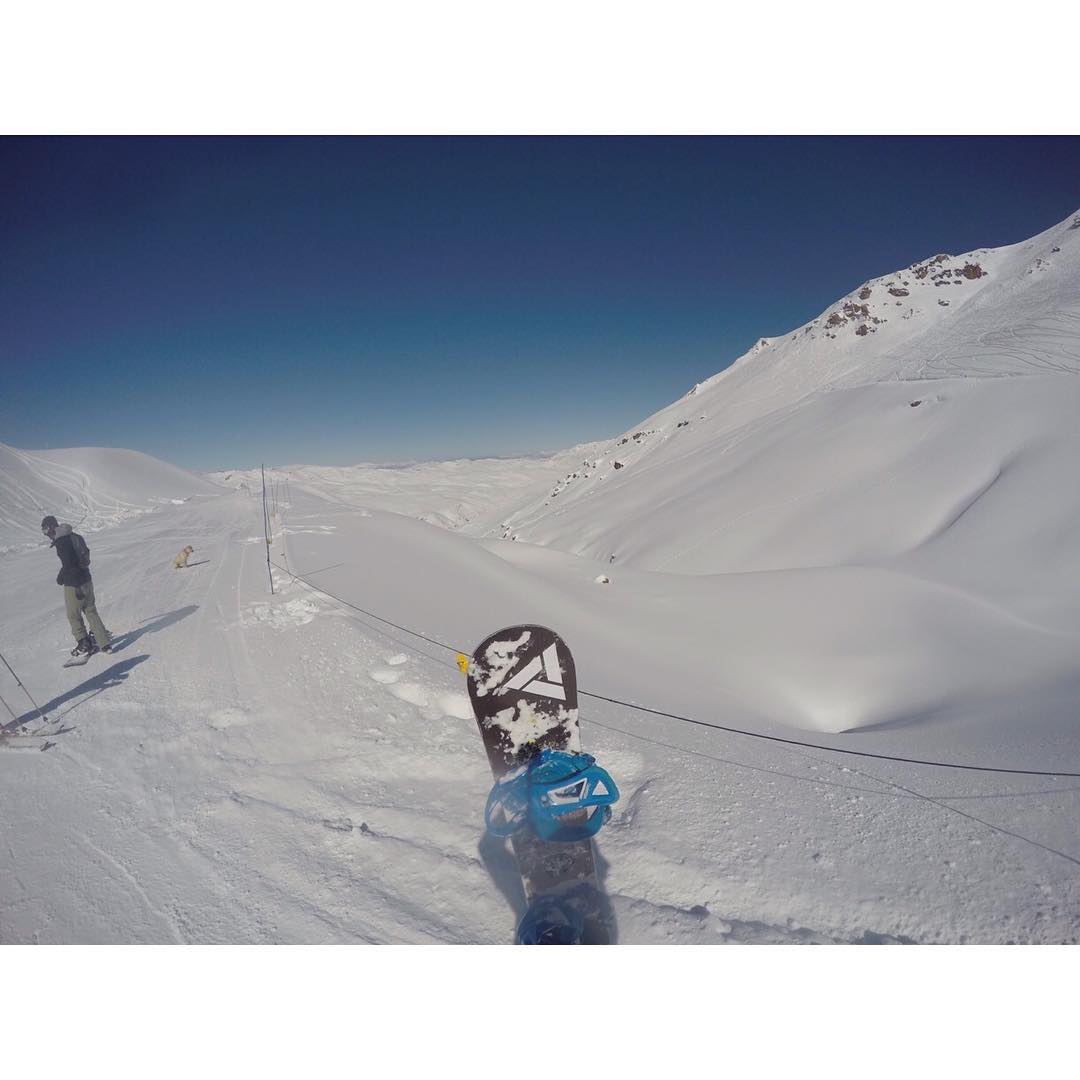 Our distributors in Chile are scoring some pow for us. Hopefully this is a good indicator for this season. El Colorado, Chile Aug. 15.  #prayforpow