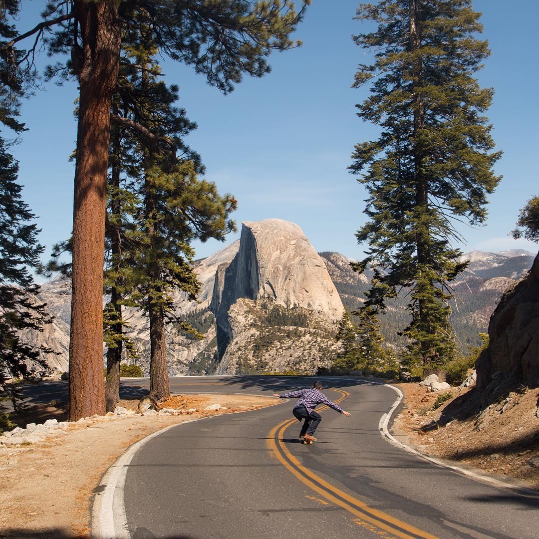 Exploring Yosemite on wheels!  Photo Credit: Creative Ambassador, @joseromero93  #soloeyewear #yosemite #explore