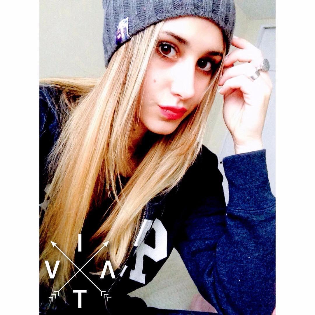 Hermosa @leonelabn con su #VitaBeanie