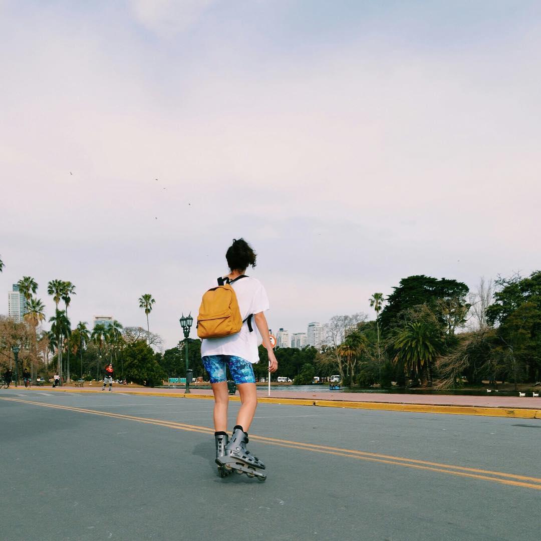 Rolling in Buenos Aires ☀️ Vení a ver los nuevos modelos de Calzas Biker de 16 a 20!