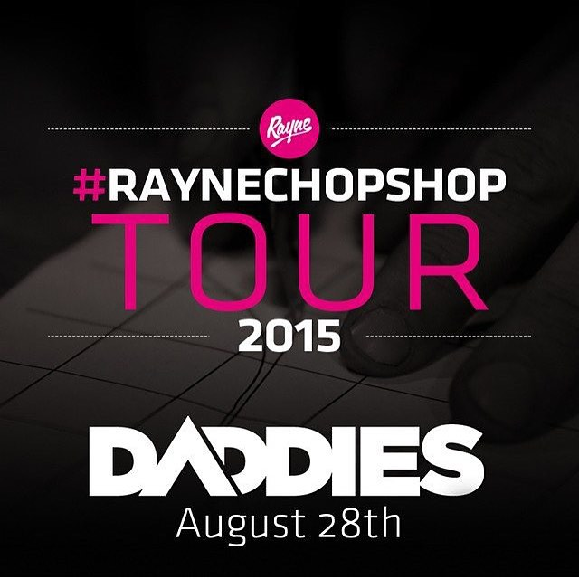 The #raynechopshop your starts this week!  #biggieboss @grahambuksa will be at daddies this Friday to teach you everything there is to know about rayne and what it takes to make a great board!  Find out more about the chop shop at www.rayne.com