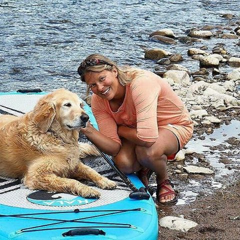 Happy #nationaldogday !#Repost from @suponthefly  Board: #halafame ・・・ Woman's best friend.