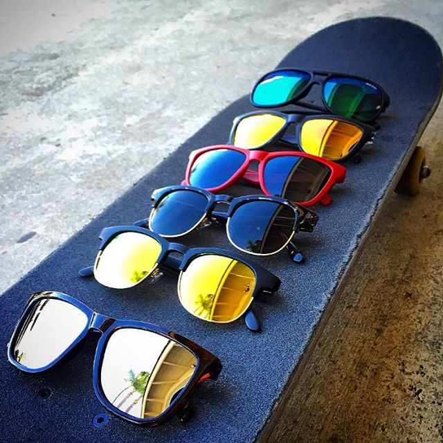 Repost from advocate @greglutzka! Lined up and ready to roll || #thesweetlife #nectarsunnies #vibesforyoureyes