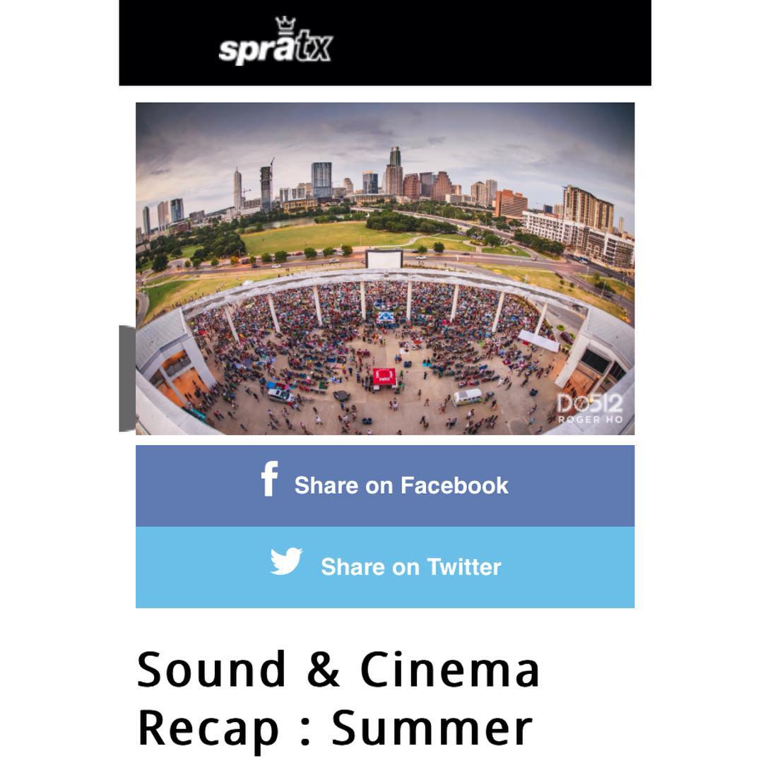 While the summer heat is still in full force, the bi-weekly gatherings for movies in the park have come to an end. Over the course of the last two months @Do512 and Alamo @Drafthouse offered live music, food trucks, and a classic movie played on the...