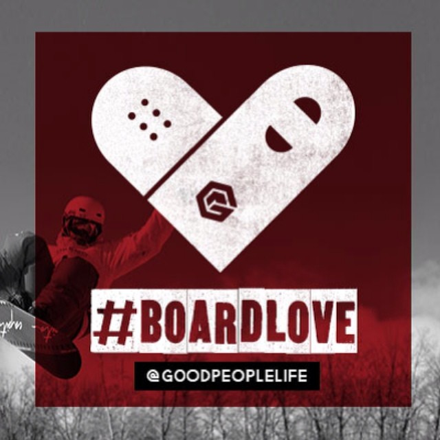 Submit a photo of you with your board to Instagram // Mention #boardlove and @goodpeoplelife // The photo that has the most likes wins some #ValentinesDay love from us (Hat, Tee, and some Chocolate) #snowboarding #surfing #skateboarding #longboarding...