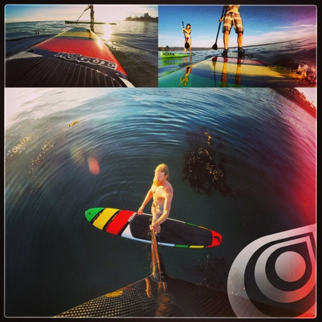 Make each session a photoshoot with #gopro! Thanks #neilamonson #ocean #camera #cruise #paddle #sup #onthewater #jointherevolution @goprobombsquad