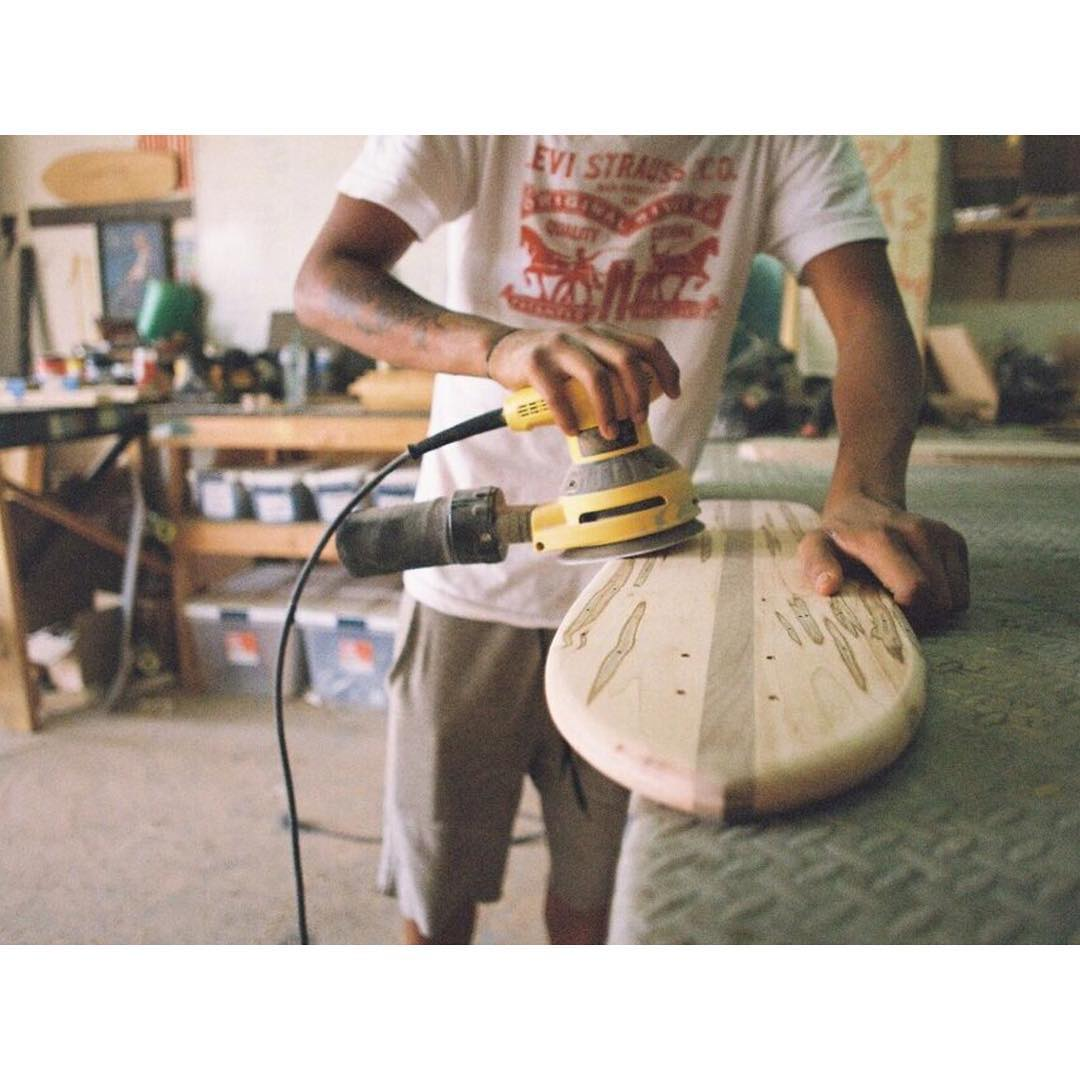 Every board is completely made by hand in Nashville TN. #handmadeskateboard #Nashville #handmade