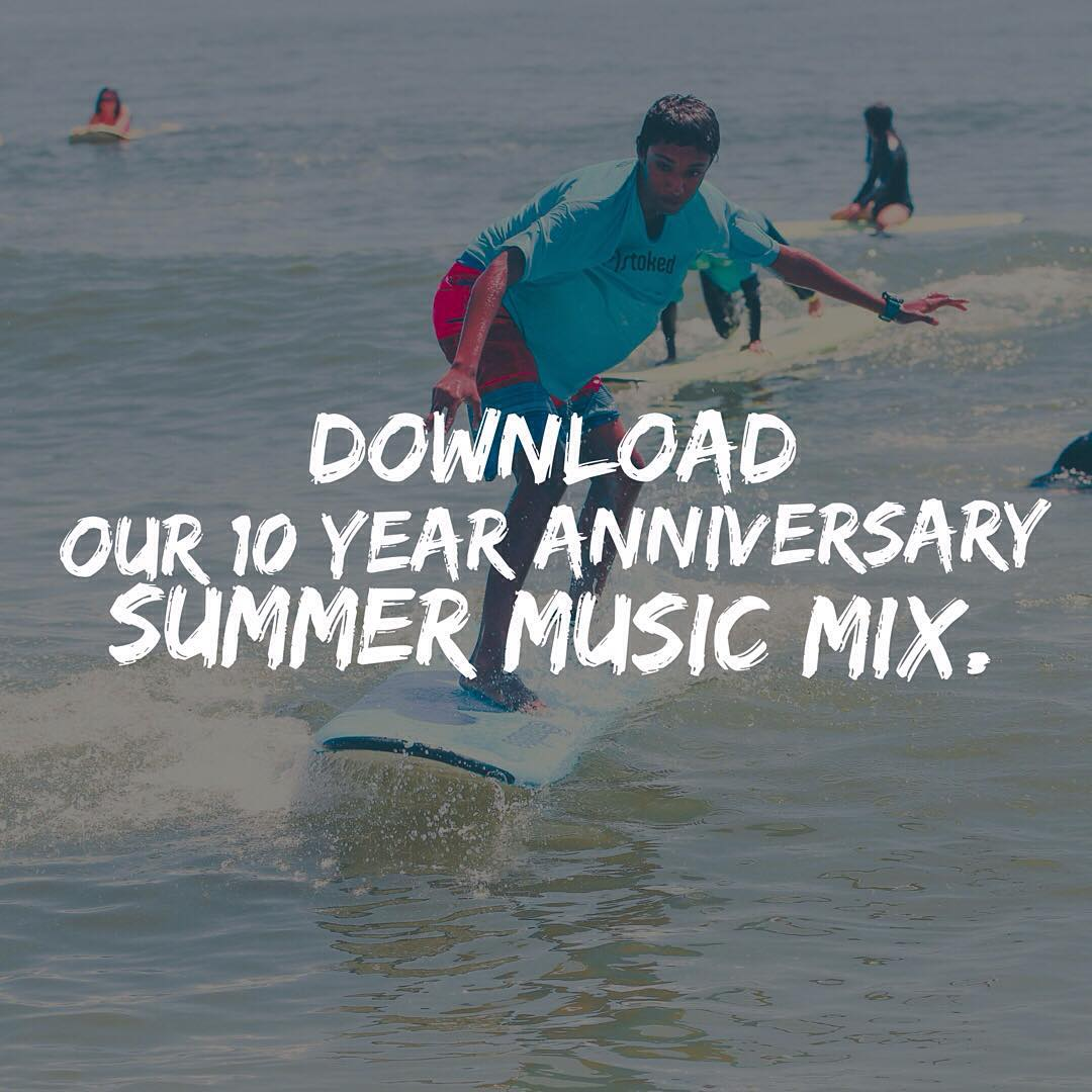 We created a rad music mix for summer. Perfect for day or night, hanging at the beach or with your friends! Download it for free - just click the link in our bio. Rock n roll!