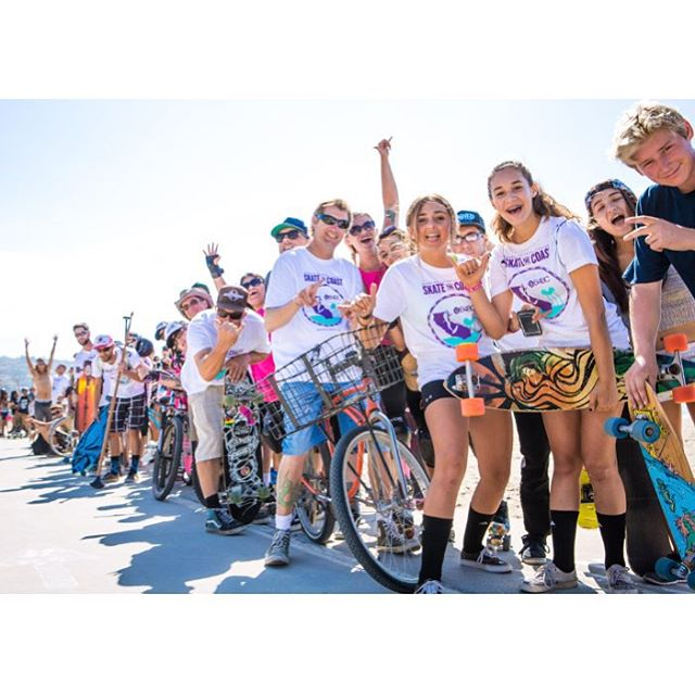 A couple weeks ago, you helped us fundraise over $30K at our #SkateTheLake 28-mile longboard-a-thon in Lake Tahoe...and on October 3rd, we're back to do it again in SoCal at #SkateTheCoast! Join us to skate, bike or blade 18 miles along the coast and...