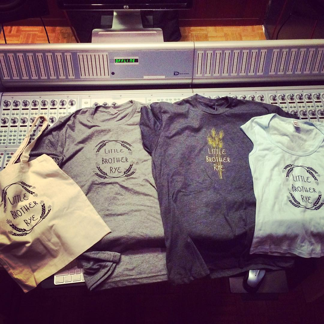 @littlebrotherrye gear is in! Come to El Rio tomorrow night to check them out and hear some new tunes. Doors at 8