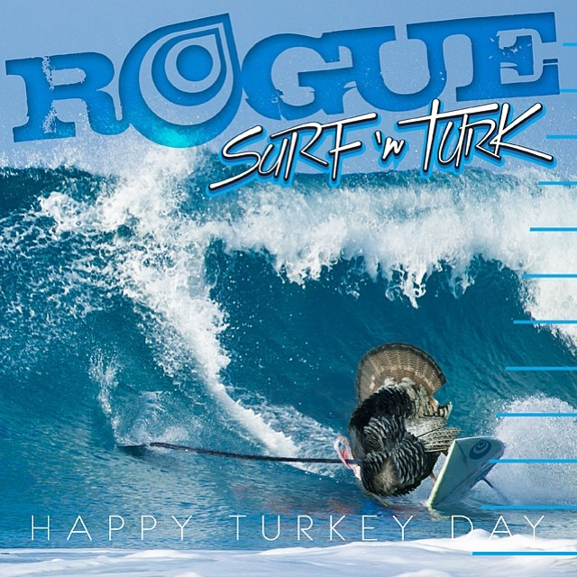 BUTTERBALL or ORGANIC or SURFING? #happyturkeyday #paddleday #surfNturk #thanksgiving #sup #roguesup