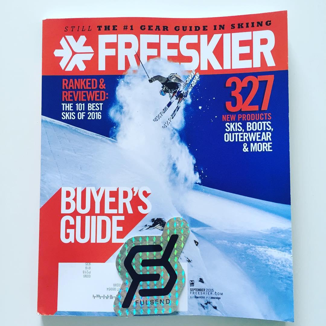 Ohhhh Yeah #getexcited #JustSendIt @freeskiermagazine #skiing #WhoaBrah #ski #winterscoming @zayjmad191 @drausch1976 @blackboatblacktruck @ericjunge @kateemcneil