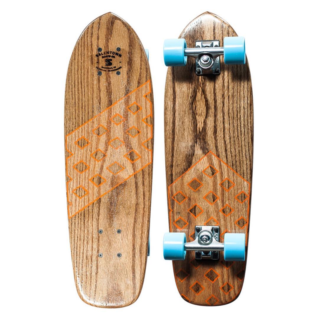 The 1 of 1 lookout was just put on sale for $198. Never to be made again. #handmadeskateboard #oakcruiser #handmade