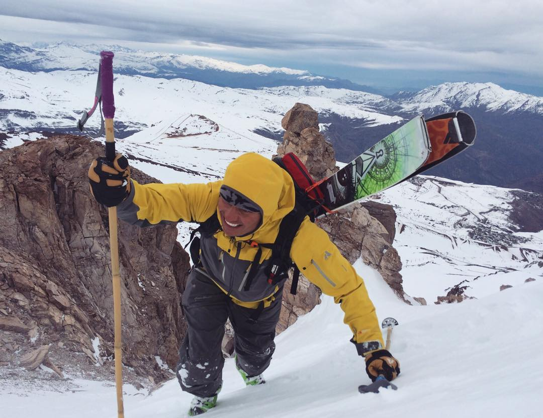 We've been working on making our poles more versatile for backcountry skiers and trekkers alike. Here, Danny Jendral puts some prototype grip extensions to the test in Valle Nevado.