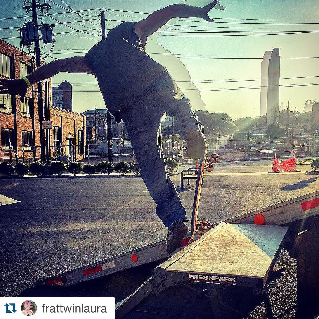 #Repost @frattwinlaura  Jeff Styers Saturday with some HDR craziness. @_get_on_board_ fundraiser! #sk8ordie #skateboardinglife #skateorlivealittle #freshpark