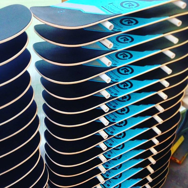 Fresh stack of our #Revbalance #Core boards drying! More info on our website! (Link in bio)  #findyourbalance #balanceboards #boardsports #train #wakeskating #wakeboarding #surfing #skateboarding #windsurfing #kiteboarding #paddleboarding #sup #yoga...