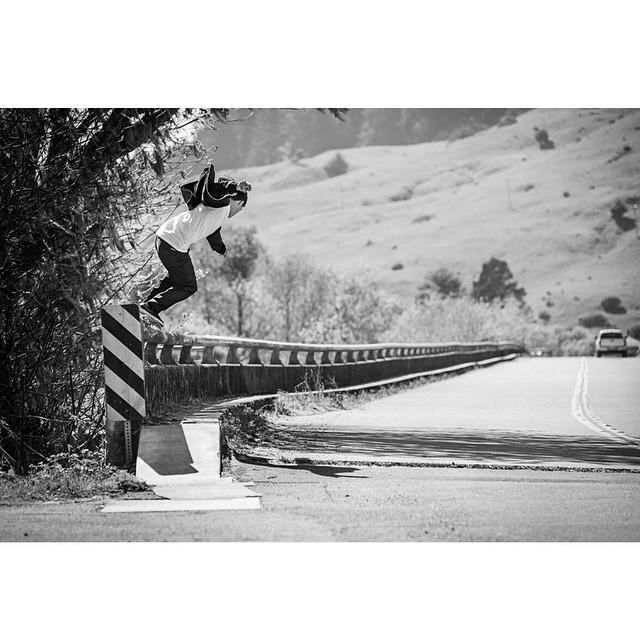 @MasonSilva >>> Backside 5050 in Big Sur, CA >>> Photo by #ElementAdvocate #BrianGaberman #MasonSilva