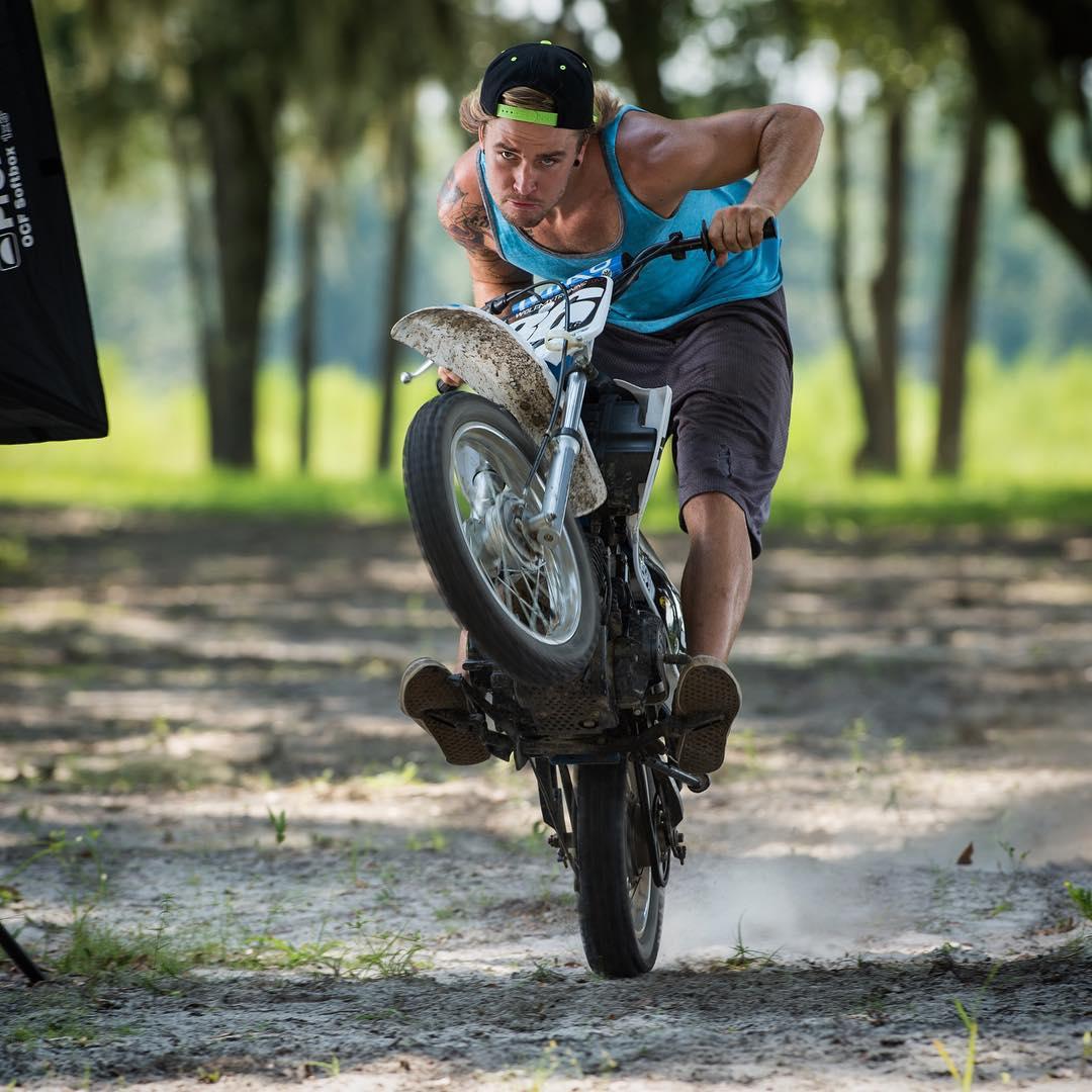 Pitbike Shenanigans for @barnettmxphotography  #moto #pitbike #motocross #barnettmxphotography