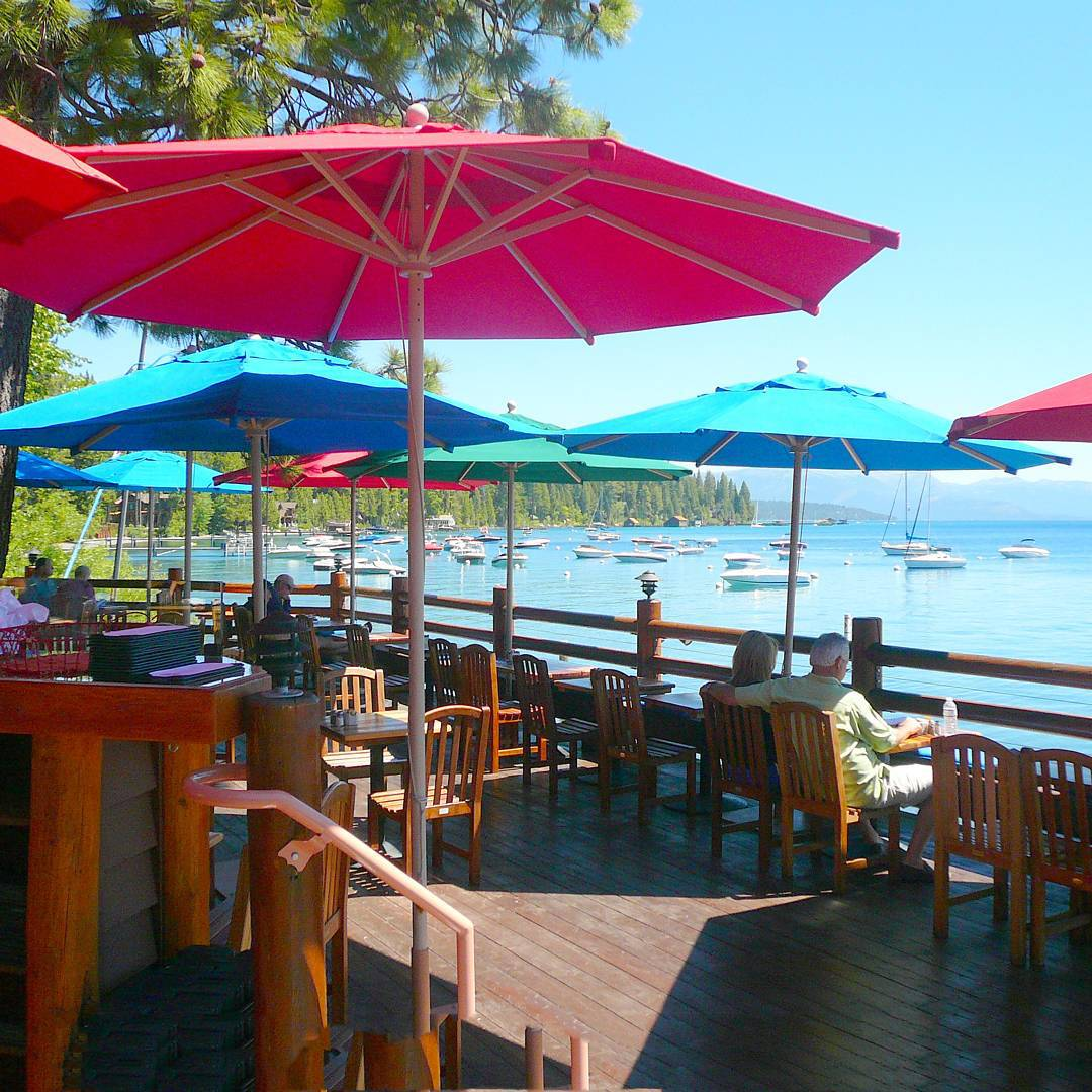 After a long day of paddleboarding, hiking, and biking some r&r is needed! #TahoeTopTen places for a drink - california89.com/blog
