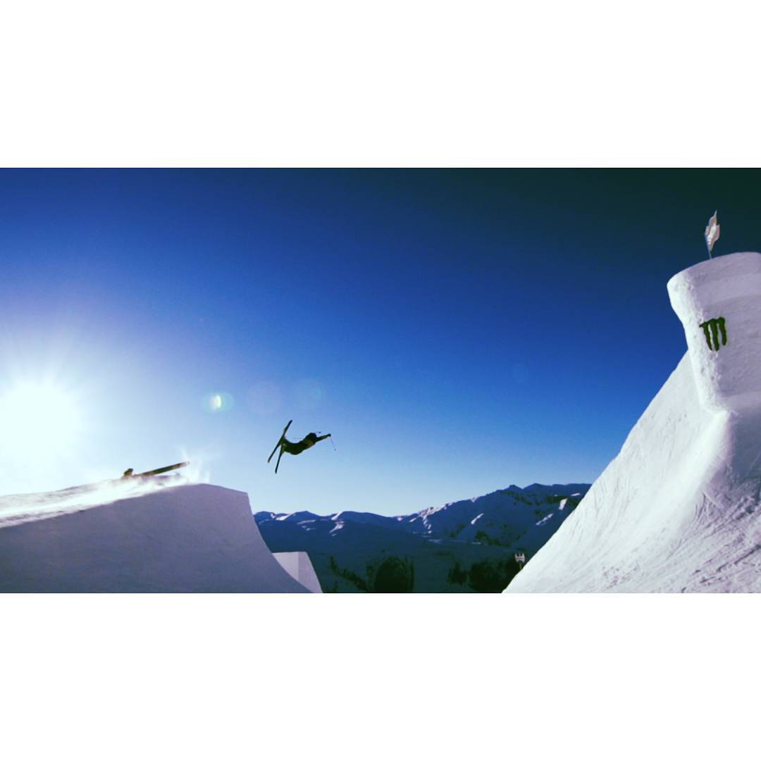 Send it this weekend!  @mrdavidwise @nineknights #shapingskiing