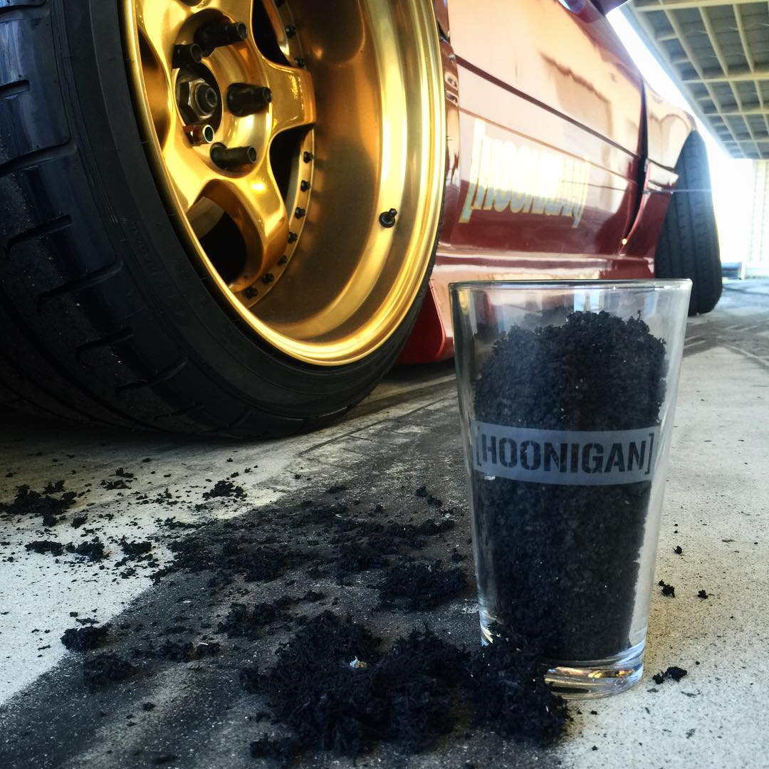 Looking for a FREE place to store your tire shrapnel? Well you're in luck! All orders made on #HooniganDOTcom of $50 or more get this limited Censor Bar pint glass for FREE while supplies last. It's first come first serve, so don't sleep on your chance...