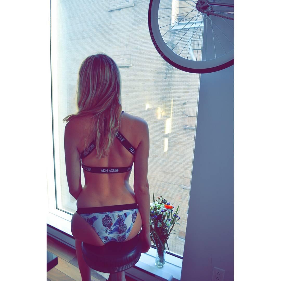 #AkelaSurf  #Ambassador  Alexandra  Ross  @anouckross  New  Collection Veronica  Steigner  coming  soon  in pre-order  #fashion  #activegirl  #beautiful  #Surf  #SurfSwimwear  #mtl