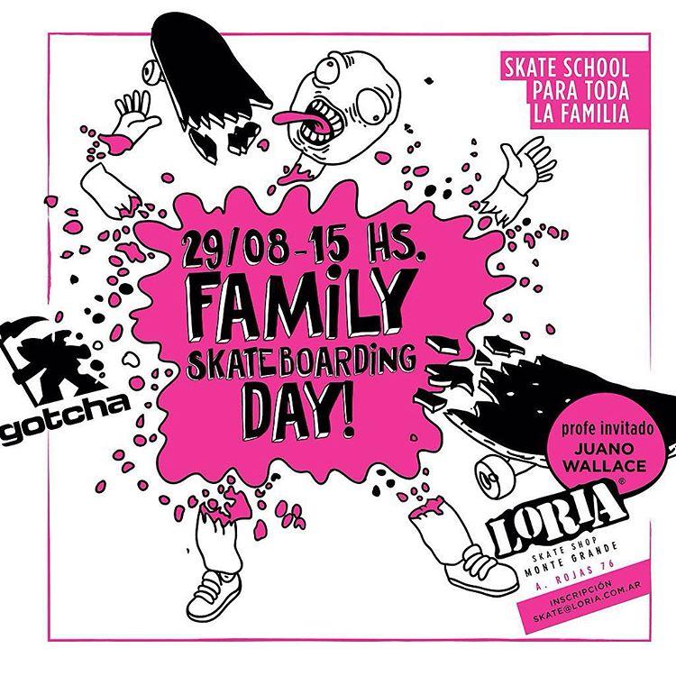 HOY #skateboarding para la family.