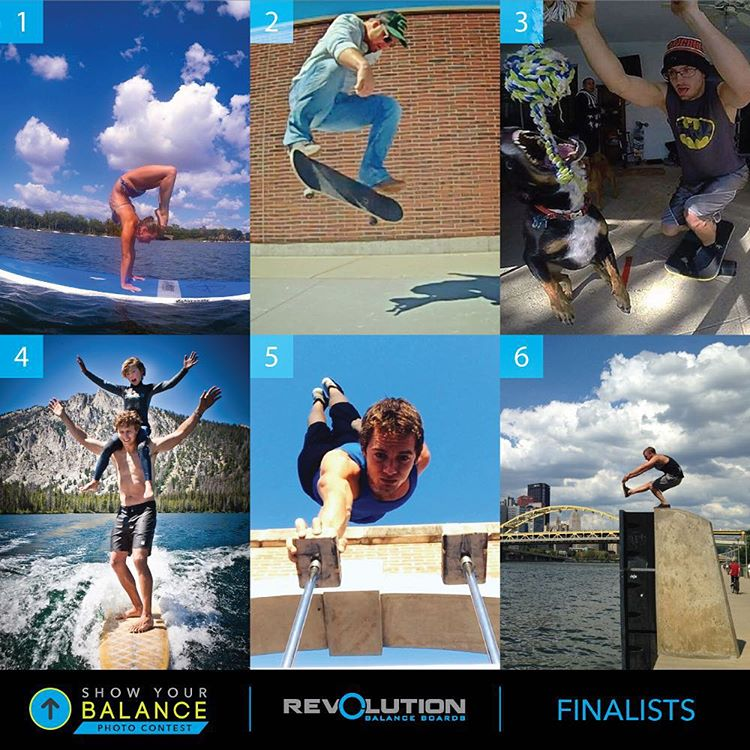 Congrats to our 6 finalists in our Show Your Balance photo contest!