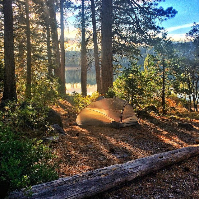 Just got done camping in #emeraldbay for the past three days now heading to Mammoth to shred #mountainbikes to celebrate Rose and Cobs anniversary. My family is amazing!!!!! #sendit #PATT #lovethelifeyoulive #stcrossfit @kirkwoodmtn @oakleywoman...