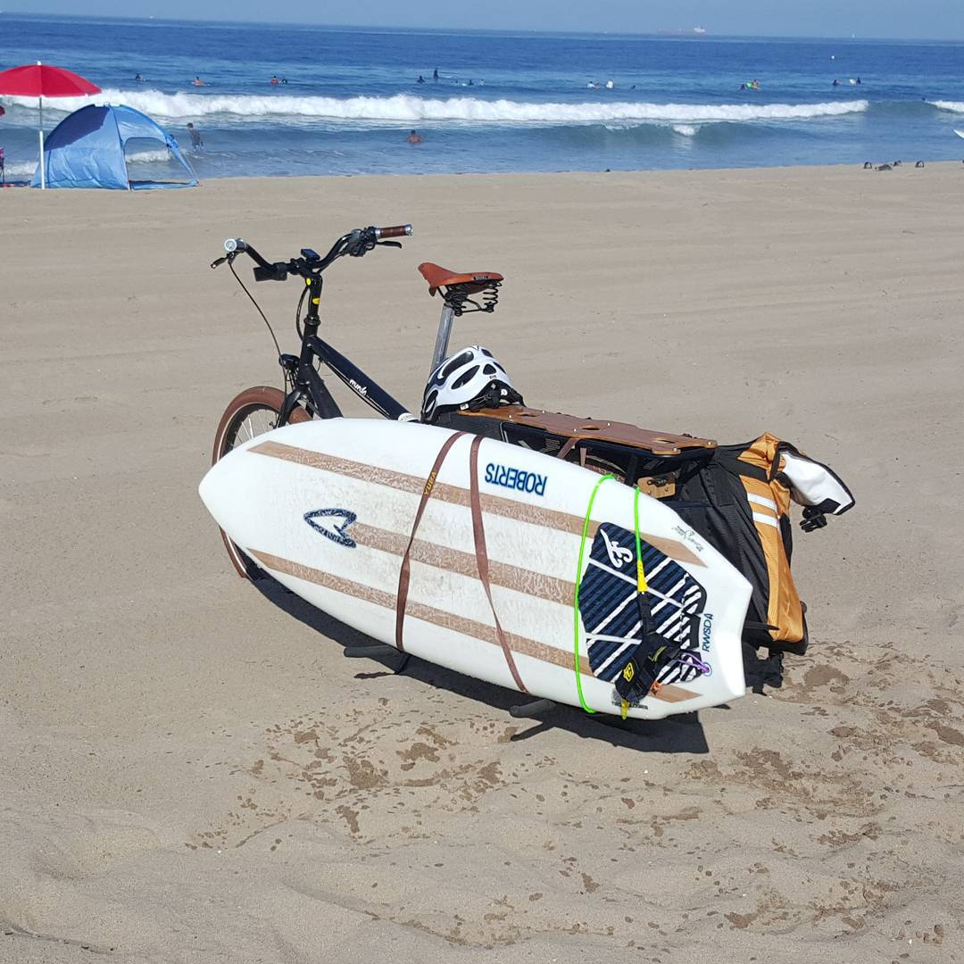 This summer is so beautiful and warm, why not take the time to ride your bike to the surf? It feels so good to pedal to the beach before enjoying the salty goodness of the ocean environment. It's better for the planet too.  Get ready for our Bike To...