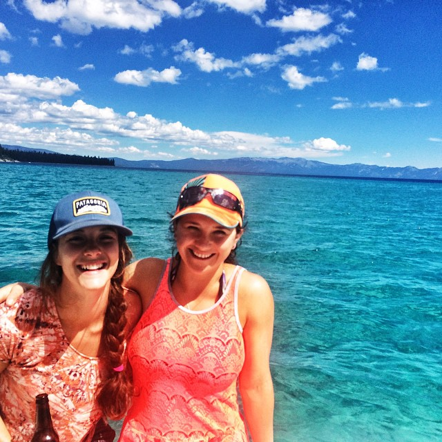 #laketahoe kicks ass! Every time I think I want to move, another surprising adventure excites my love for this amazing place. #emeraldbay #camping #boat #lake #girls #party @neversummerindustries @oakleywomen @dakine @avalon7 @epicbar @kirkwoodmtn...