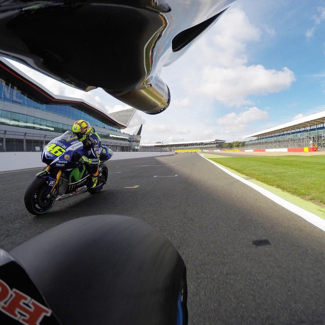 What a race! @motogp #BritishGP #GoProMoto #MotoGP