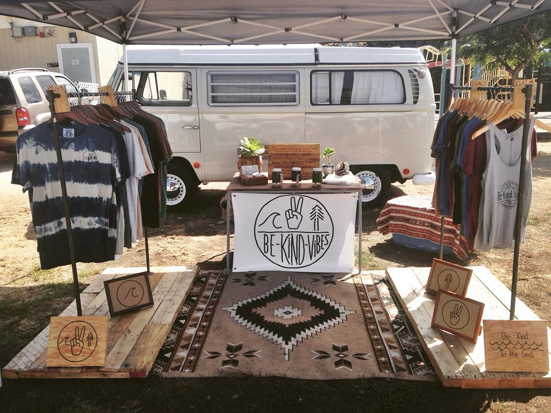 ~ Leucadia Market ~  Beating the heat at the Leucadia Market today! We'll be here until 2pm. Just a couple Mens indigo tees left on the racks  Also, our Endless Summer Sale ends tonight at midnight in our online shop. Take 25% off your entire order...