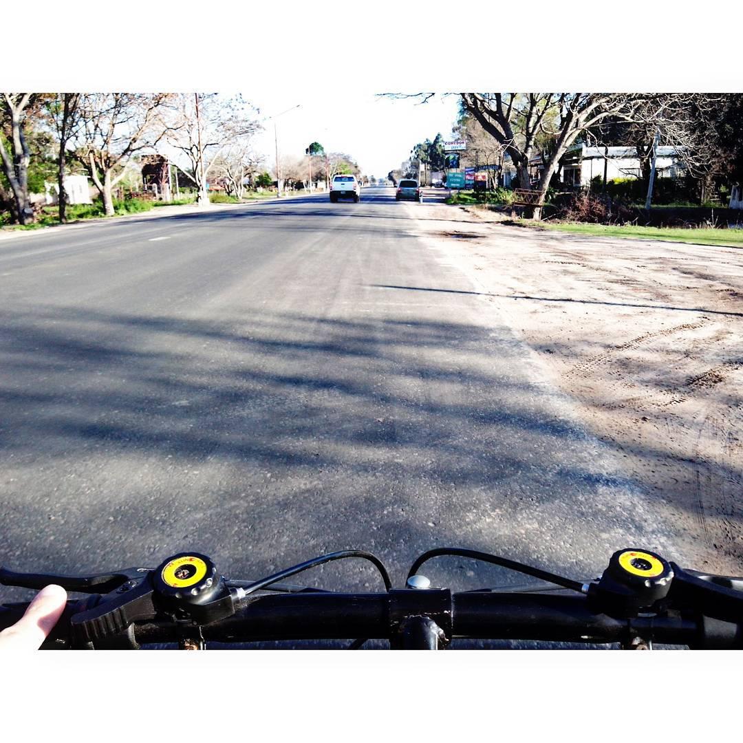 Bicicleteada, aprovechando el día
