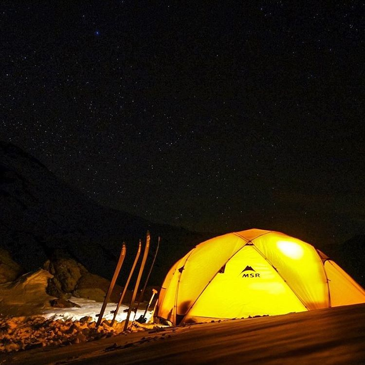 DPS Ambassador @independentdescents has just emerged from an attempt at Volcán Peteroa. This is part one of a five-part Instagram takeover.  This trip started so magically. Our first night, high in the Andes, was clear and without a breath of wind....