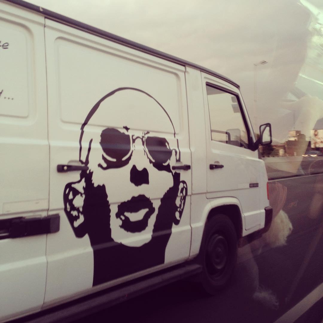 Fan @ivanafernandez18 #indio #losredondos #indiosolari #stencil #car