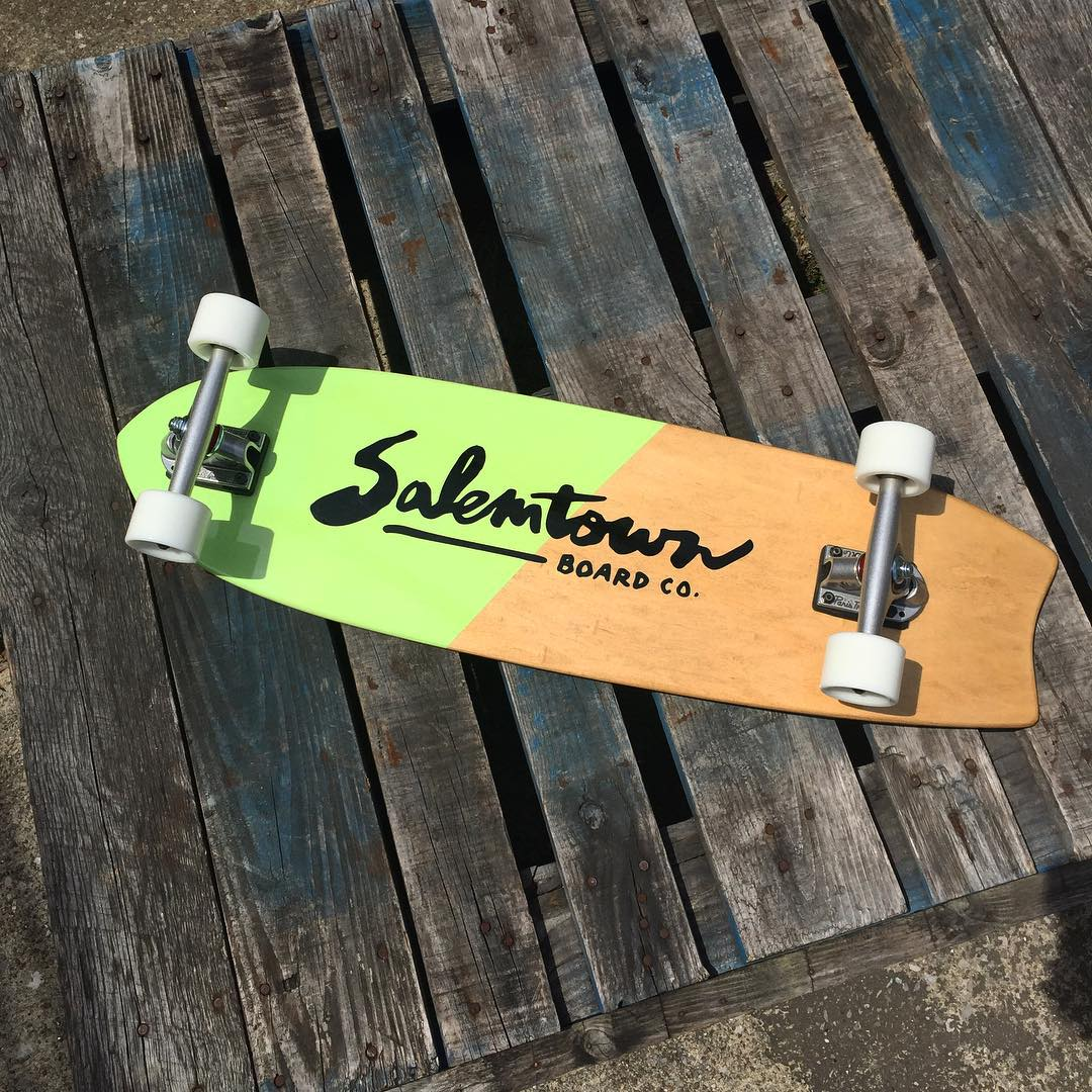 New week. New ride. Take us with you this week. #salemtownboardco #handmadeskateboard #nashville #MadeInAmerica