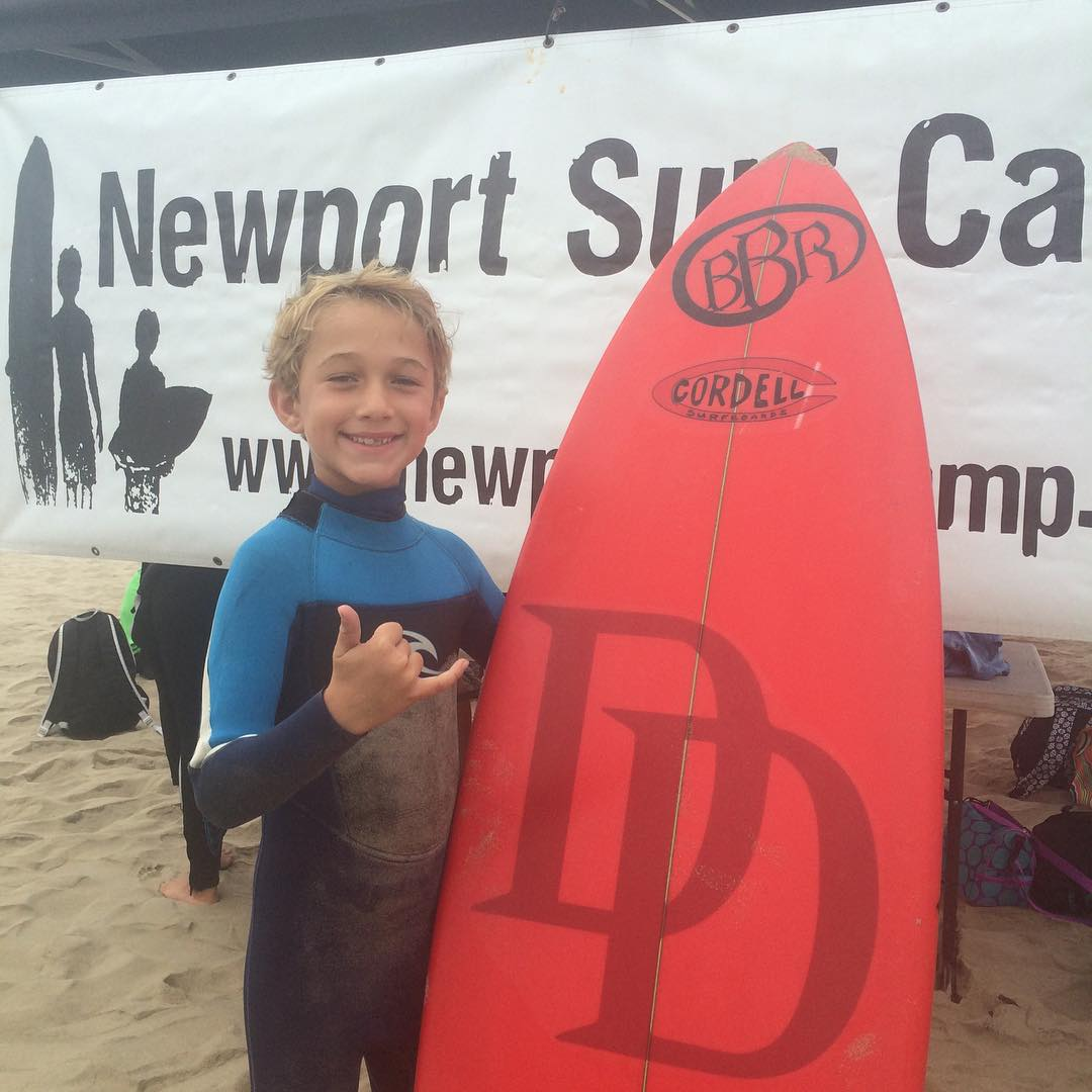 Surf camp for our youngest Teamrider, Benjamin. Happy Birthday. Get some good waves. #newportsurfcamp #bbr #bbrsurf #bbrsurfwear #teamrider #benjamin #happybirthday #28thstreet #newportbeach