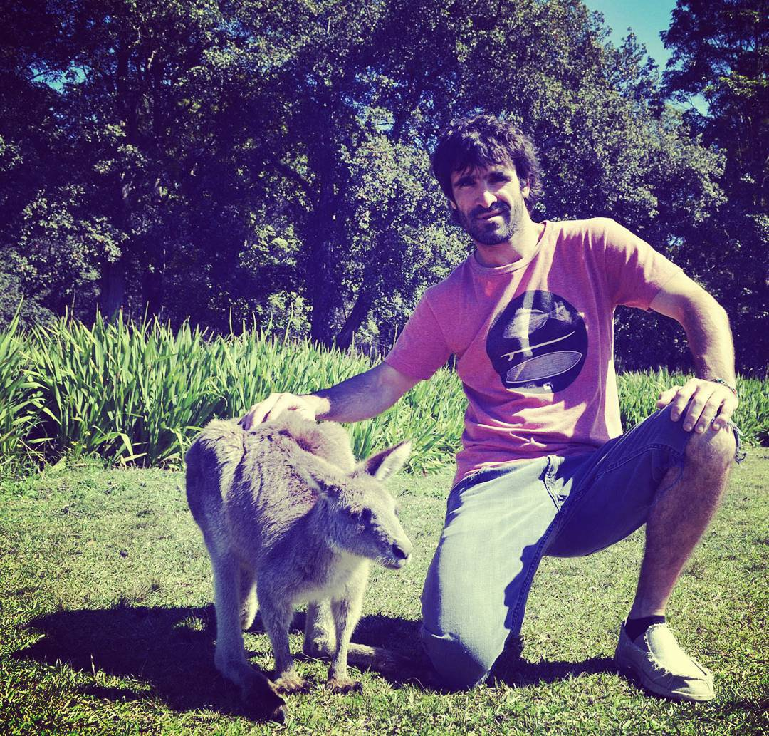 Convivir con lo Natural! Benja Pastrana en Australia #followthesun #convivirconlonatural #aussie #australia