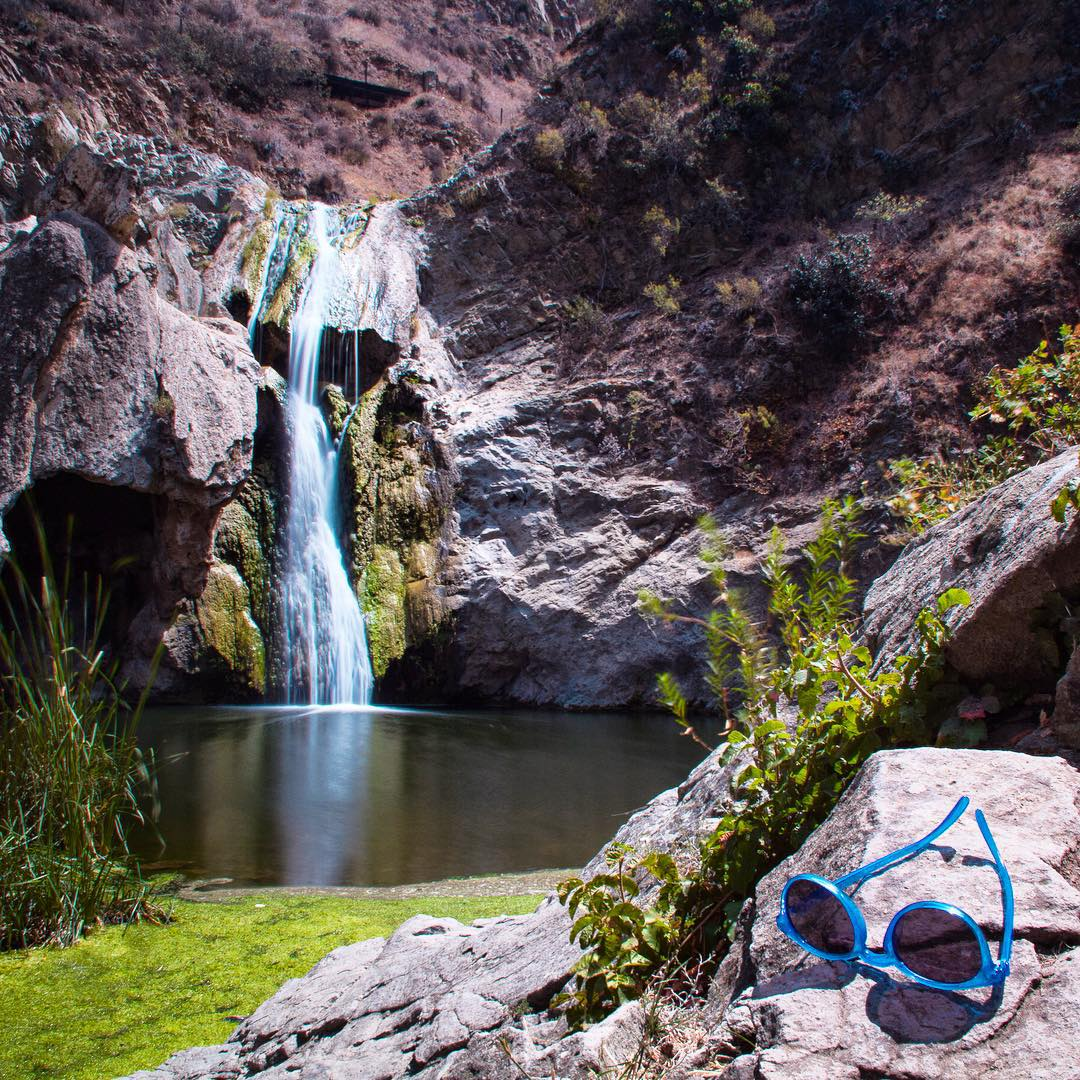 Daydreaming of adventures.  Great shot from @elisabethontheroad exploring Paradise Falls.